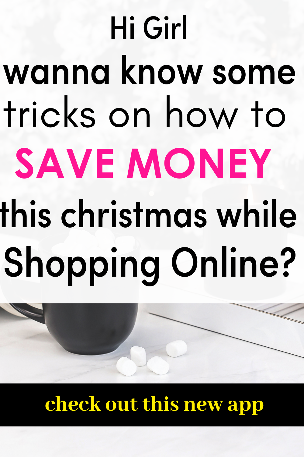 When it comes to money saving tips and ideas for your Christmas shopping list one can get overwhelmed on which website is the best to save money especially with Christmas gifts. But there is one money-saving app in iPhone that has been for online shopping. this app has all your favourite retail shops. Sign up now and get instant Christmas gifts discounts. #gifts#christmas#Christmasgifts #giftguide #giftideas #savemoney #money #debt #cheap #