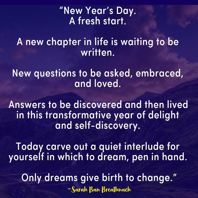 either you are looking for new year quotes for a fresh start or moving forward in