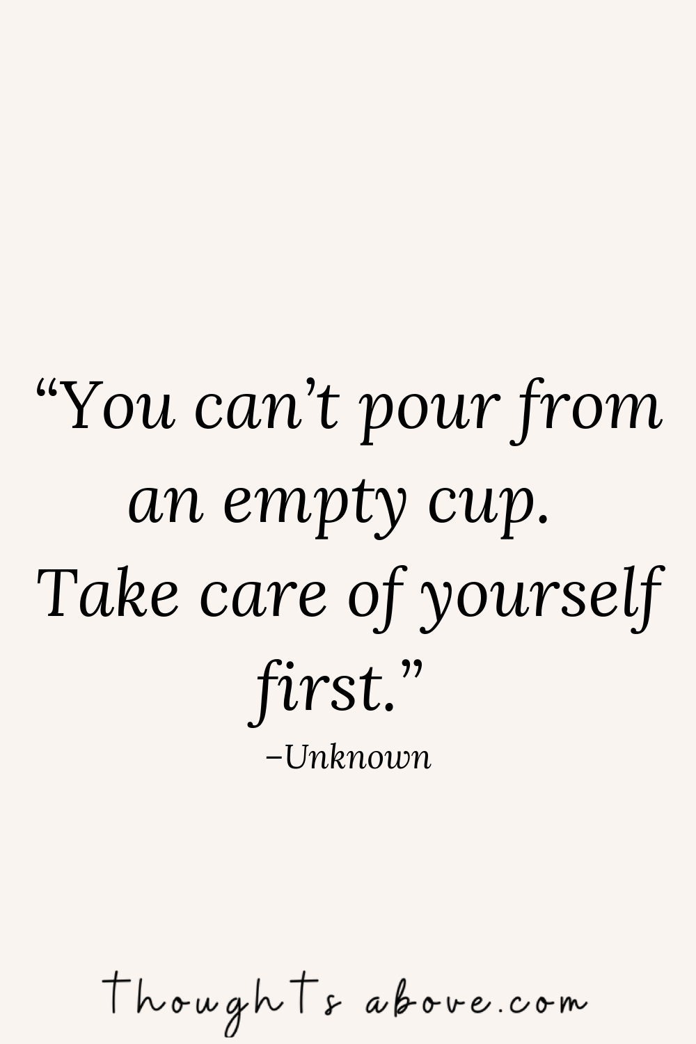 self care quotes for women