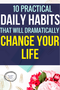I'm happy I found this daily habits list. Now I know the exact habits I need to improve my life. daily habits of successful people| daily| habits morning routines| daily habits tracker | daily habits woman| daily habits ideas| #habits #selfcare #quotes #beauty #skincare #lifehacks #mothers day