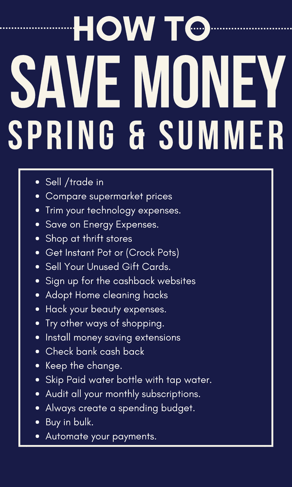 how can save money if you are However, you can often find a few added benefits of going green, including a healthier lifestyle and saving a lot of money try a few of these tactics this spring and know that every little bit.