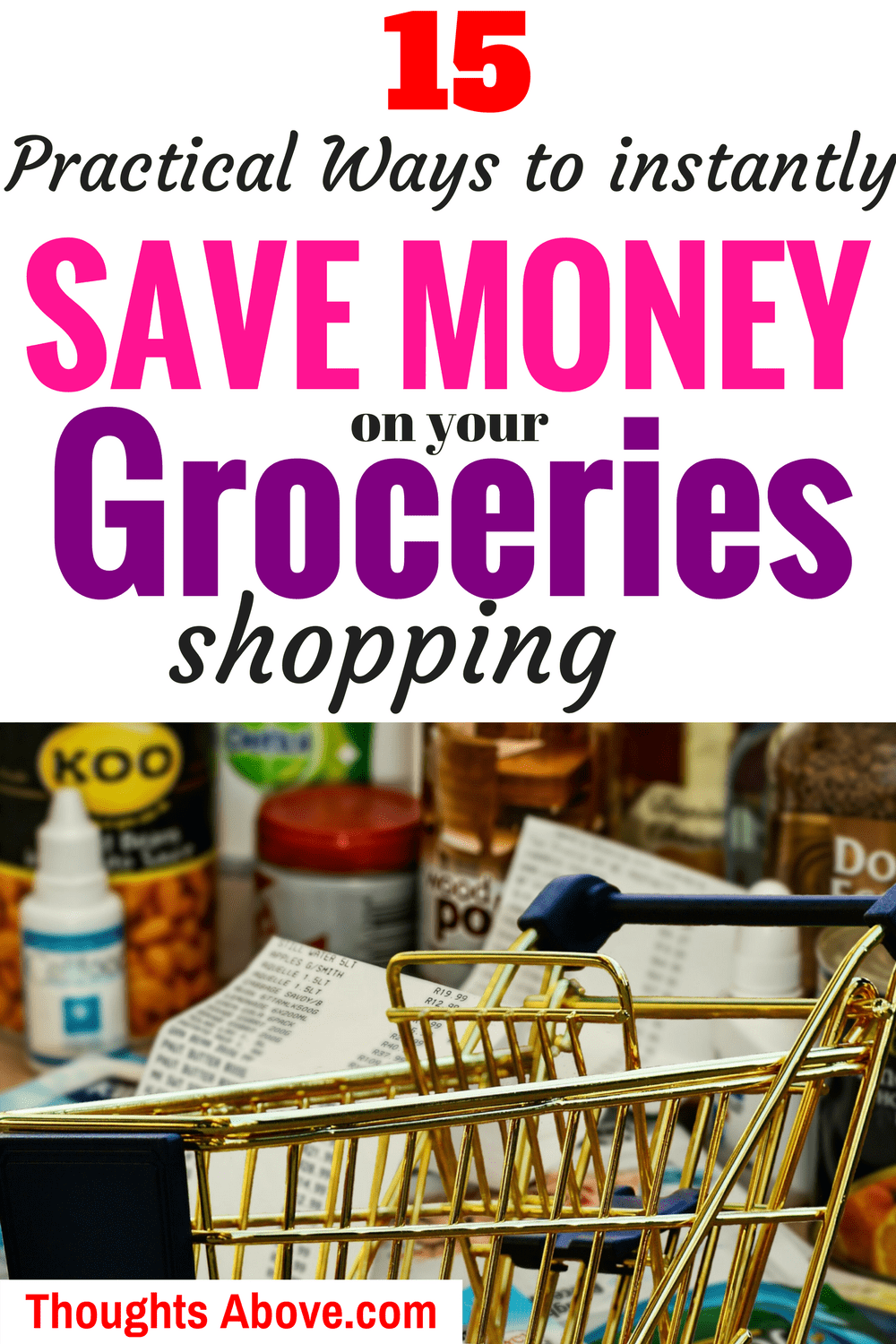 How to save money on groceries budget tips without coupons. Save money tips, Frugal living/ budget/ Meal planning to save money on food #savemoneyongroceries #moneysavingtips #frugalliving #grocerysavings #money