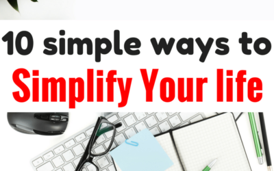 Awesome article with 10 amazing tips on how to simplify your life/minimalism/ways to improve yourself/self-improvement tips. I'm so inspired by this post. I'm glad I found this post pinning this for later.