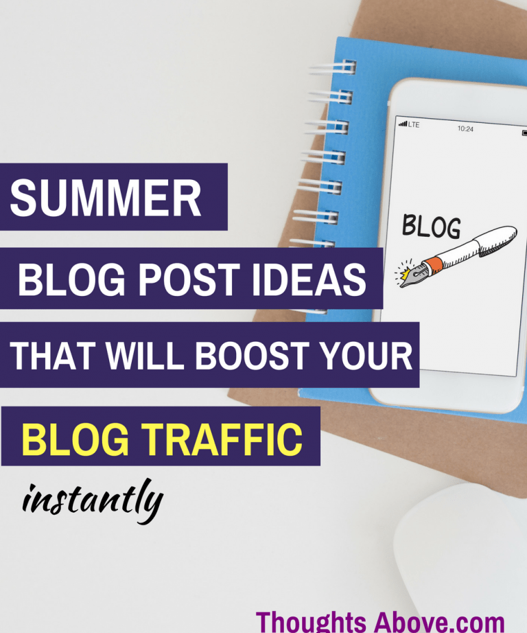 What an awesome article with over 50 summer blog post ideas. I'm sure this blog post ideas list will boost my traffic during the summer season. I'm saving this pin for later./Blog traffic tips
