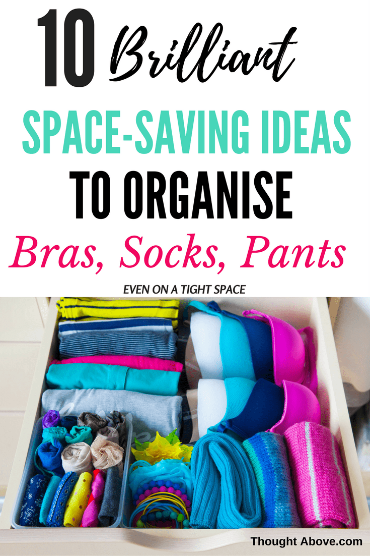 If you're looking for Storage solutions for your bra organization, then check out this fantastic article. It has all ways to store bra, lingerie, either you like organizing them In drawers, hangers, hooks, or in your closet. /Space-saving ideas to Organise bras in small spaces. #bedroom #bra #lifehacks #organisation #organise |bra organization ideas| #brafitting |bra storage Bra, and underwear Organisation small spaces| underwear organization dresser drawer| Organisation ideas bedroom
