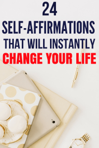 These self-affirmations will instantly change your life. They will make you a more positive thinker, increase your self-confidence. If you are a woman, then these affirmations for women is a must read. self-care   self-love   self-improvement   self-confidence #affirmationsforanxiety #dailyselfaffirmations #positivethinking #selfcare #affirmations.