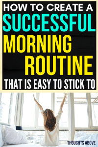 Before reading this post, I had problems with creating a morning routine before work. But after reading this amazing article, I have come up with ideas on how I can create a healthy morning routine that I can stick to finally. Morning routine checklist| morning routine for women| morning routine for adults.#routine #morning #checklist #morningchecklist #monday #organisation
