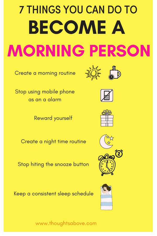 How to become a morning routine person/morning routine for adults/ morning person tips / not a morning person tips / how to wake up early in the morning tips / early morning routine /productive things to do #morning #routine #morningroutine #morningperson #bestmorningpractices #wakeup #earlymorning #Productivity #dailyhabits #healthyhabits #timemanagement