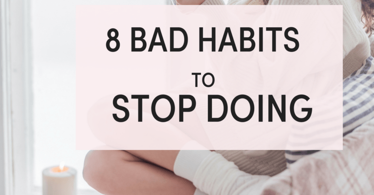 8 list of bad habits you need to stop.