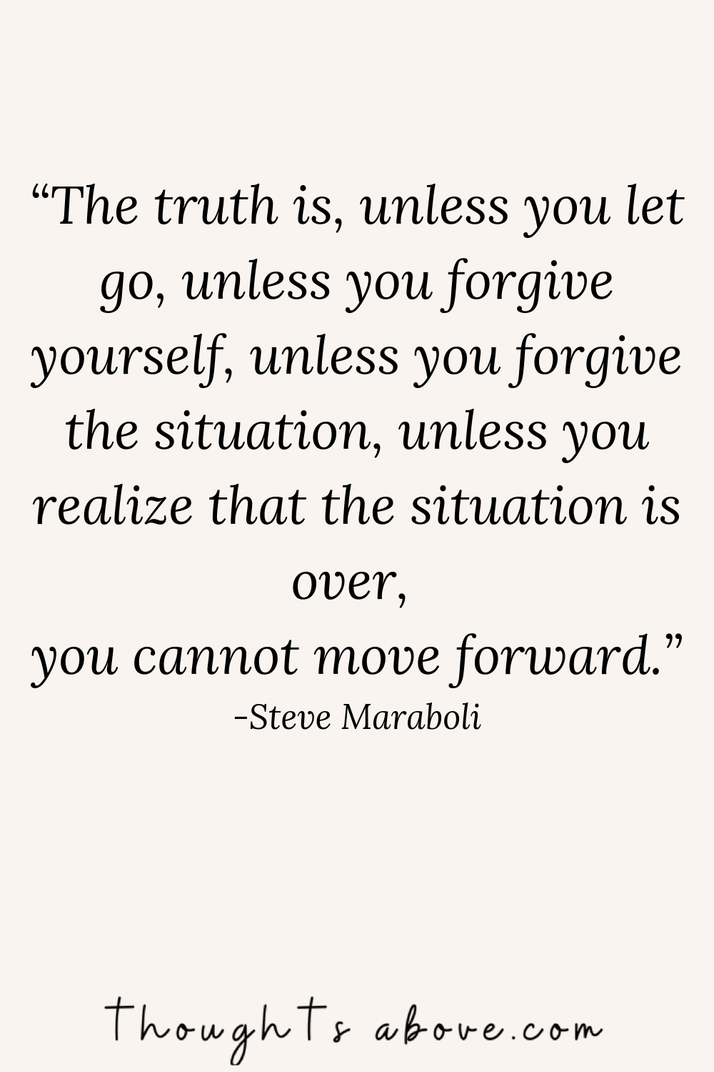 letting go quotes move on