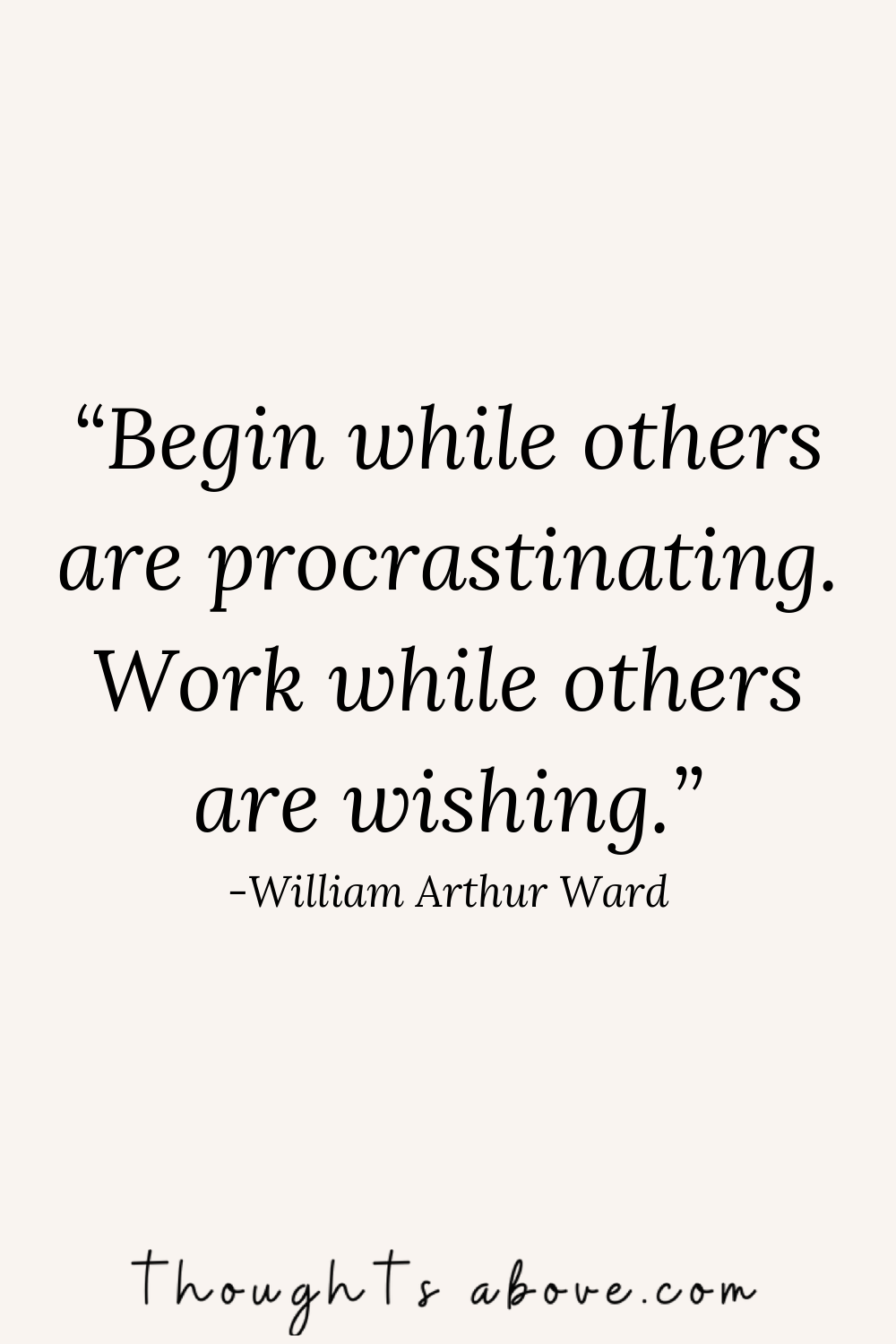 stop procrastinating quotes