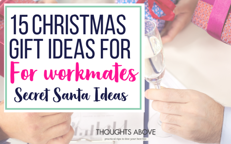 If you are looking for Inexpensive Christmas gifts for workmates, or Christmas gift exchange ideas for work, or secret Santa gift ideas for friends, then check this post it has 8 unique and funny office friend gift ideas that are under $ 15. Office friend gift ideas don't have to be hard to find out which ones are fit for your office friends #Christmasgifts #office #giftideas #workmates #gifts #secretsanta