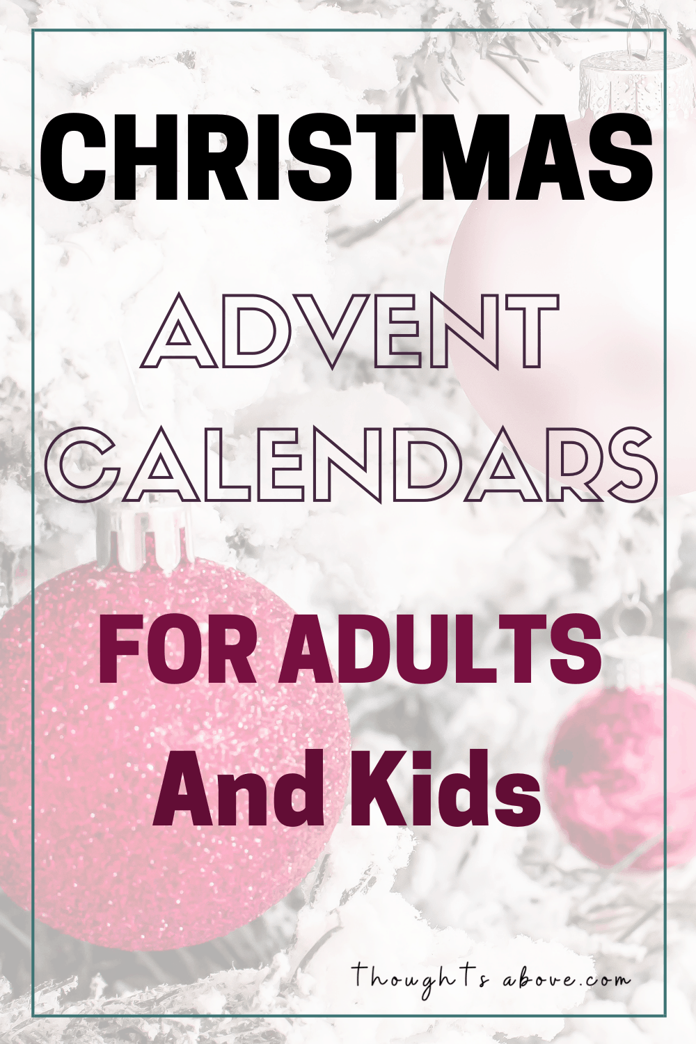 advent calendar 2019 kids and adults