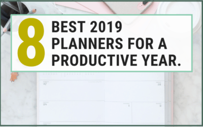 Finding unique personal planners and organizers can be challenging there are so many Planners and organizers out there. check this 8 best planner that will help you stay organized. My favorite is number 3 is divided into a weekly & daily planner sections. you will also see tips and ideas on how to use an either it's agenda, Inspirational or Productivity planner. #planners #2019planners #newyear #resolutions #goal