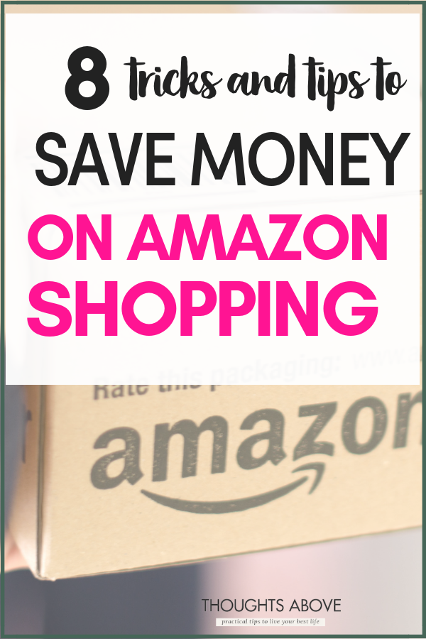 Are you trying to learn how to save money with Amazon products whether its decor beauty, clothes, or any other must-have amazon products? This post has five ways on how you can get things on Amazon products and save money. Click through and find see what steps to take #shopping #budget# save money #money #amazon #amazonprime #blackfriday #Christmas