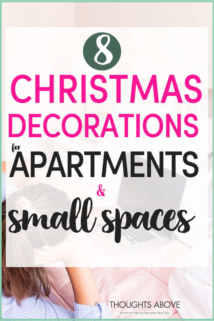 If you're wondering how to decorate on a budget your Small apartment during Christmas, then these modern and classy Christmas decorations apartment will change your mind. They are ideal even for small spaces. Click the post to explore.. especially number 4 will light your living room. #smallapartment #apartment #christmasdecorations #christmasdecor #rented #flatsdecorations