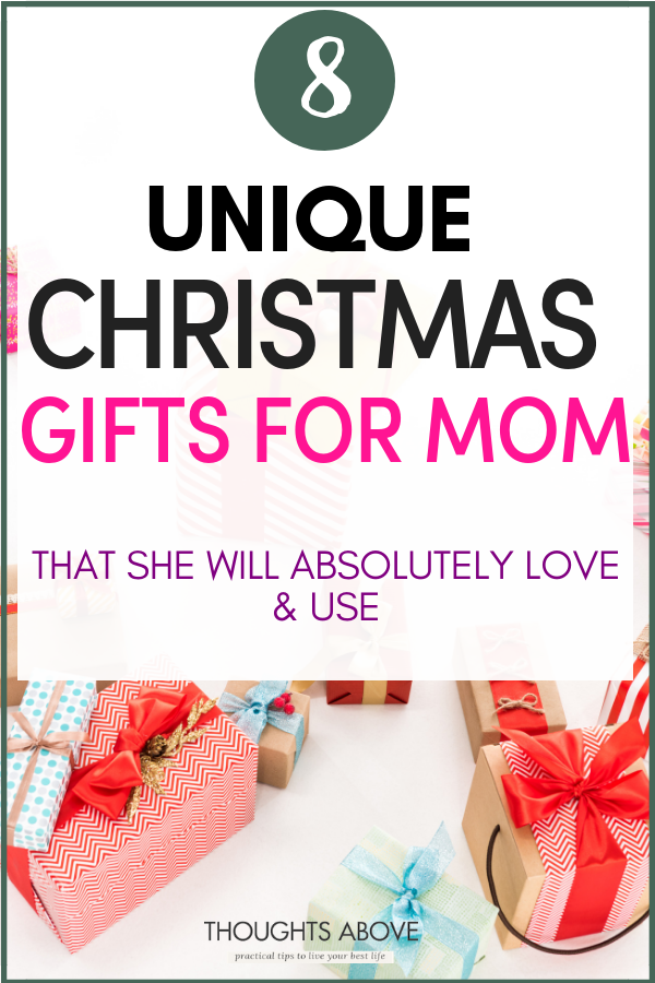 10 Thoughtful Christmas Gift Ideas Your Mom Will Absolutely Adore