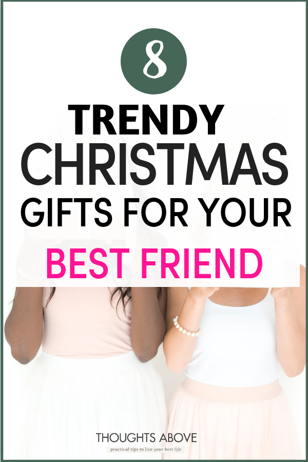 Finding a unique but inexpensive Christmas gift for friends can be challenging at times. And if you are looking for gifts ideas for a best friend then read this post I have shared with you 8 thoughtful Christmas gifts ideas for friends that will sparkle their heart and make it useful. #gifts #bffs #christmas #Christmasgifts #Xmas #giftguide #giftideas #presents