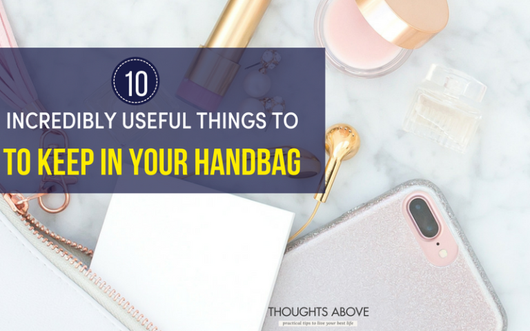 8 Must Have Items In Your Purse And Handbag