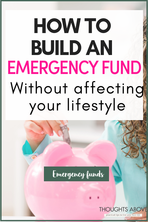 An emergency fund is designed to cover a financial shortfall when an unexpected expense crops up. But there is one question I get all the time. How do I build an emergency fund without affecting your lifestyle budget, or saving plans? In this post, there are 10 + proven ways that you can use to build an emergency fund.#money #budget #savings #newyear #moneysavingtips #savemoney