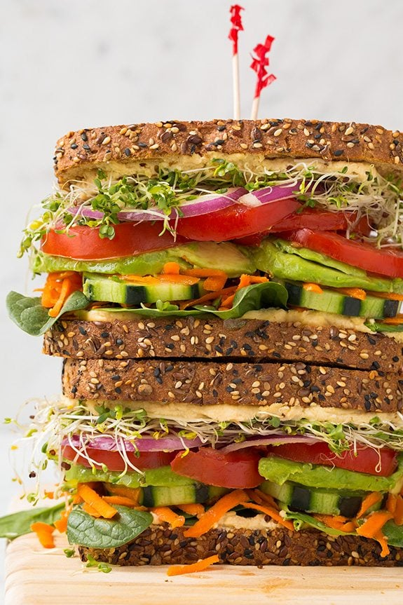 Wondering where to get some easy and quick to make lunch ideas for work or home? Here is a list 20 Healthy Lunch Ideas all in one place with Vegetarian, Vegan, and clean eating options and low carb lunches option included. From wraps, sandwiches. #lunch #packedlunches #healthy #healthyfood #lunchideas #healthylunches #GirlBoss #millenial #office #wifey